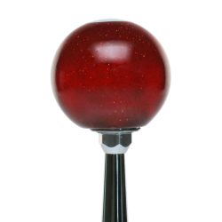 Blue 01 Private First Class American Shifter 241583 Red Flame Metal Flake Shift Knob with M16 x 1.5 Insert