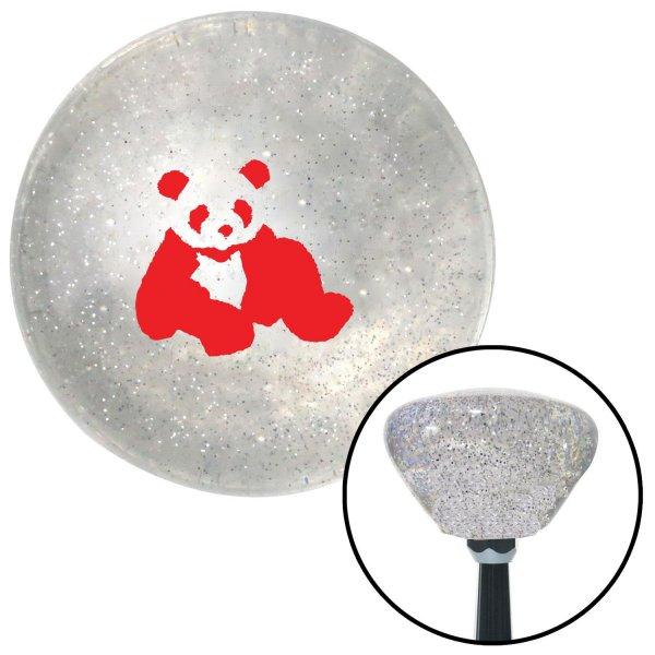 American Shifter 26871 Blue Metal Flake Shift Knob Red Panda Bear