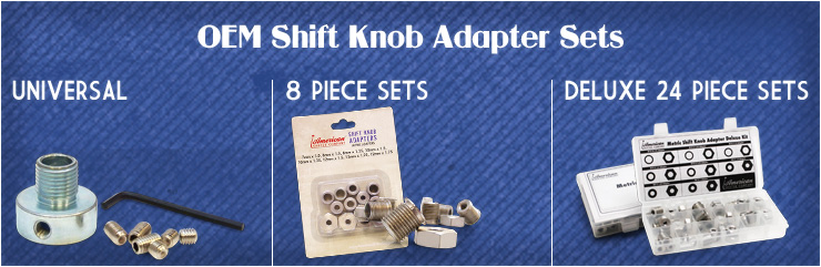 OEM Shift Knob Adapter Sets